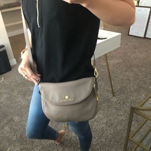 Vince Camuto Taupe Crossbody